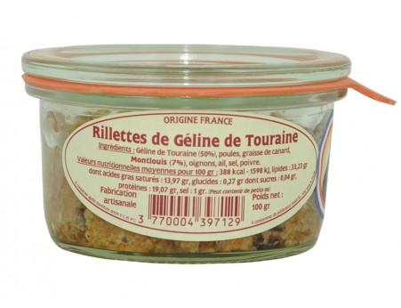 Rillettes de Géline de Touraine