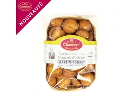 Bouchées apéritives Moutarde d'Orléans 100g