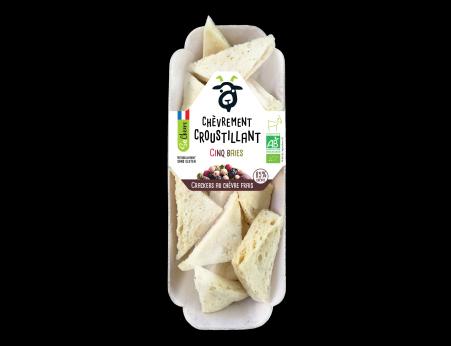 Crackers au chèvre frais cinq baies Bio