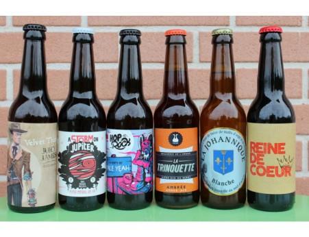 Coffret 6 bières région centre