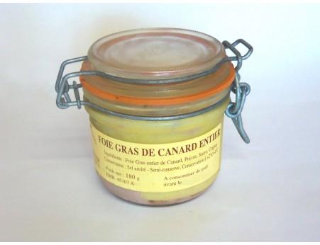 Foie gras entier 180g