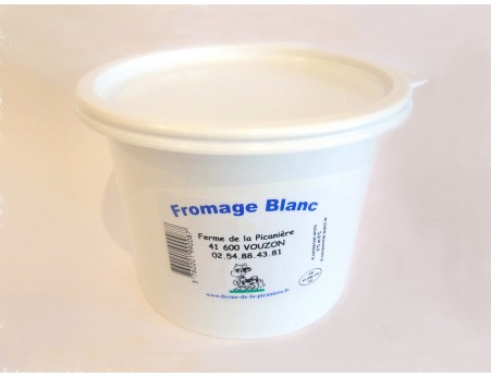 Fromage blanc lissé 500g