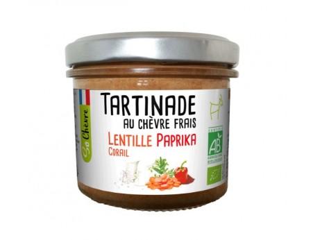 Tartinade au chèvre frais Lentilles Corail et Paprika So Chèvre Bio
