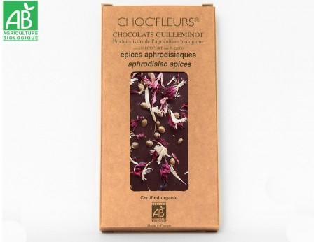 Chocolat noir 58.6% aphrodisiaque