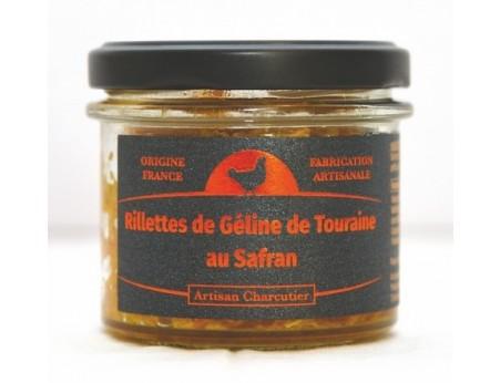 Rillettes de Géline de Touraine au Safran