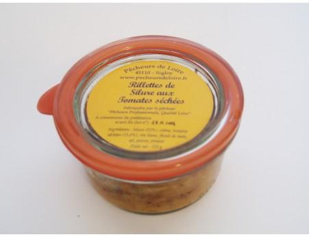 Rillettes de silure aux tomates séchées 110g