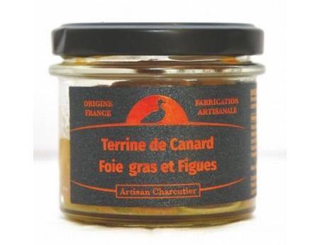 Terrine de Canard Foie-gras et Figues