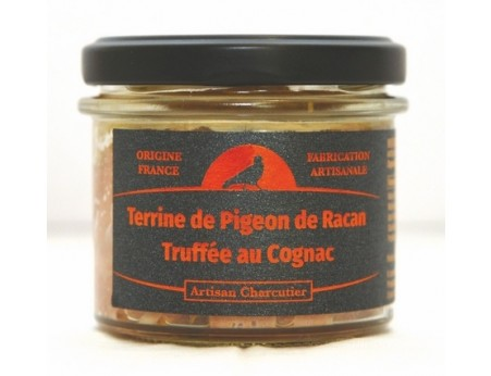 Terrine de Pigeon de Racan Truffée au Cognac
