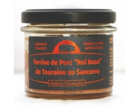 """Terrine de Porc """"Roi Rose""""  de Touraine au Sancerre"""
