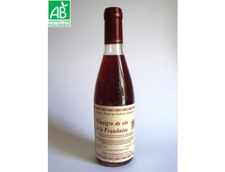 Vinaigre de vin à la framboise bio